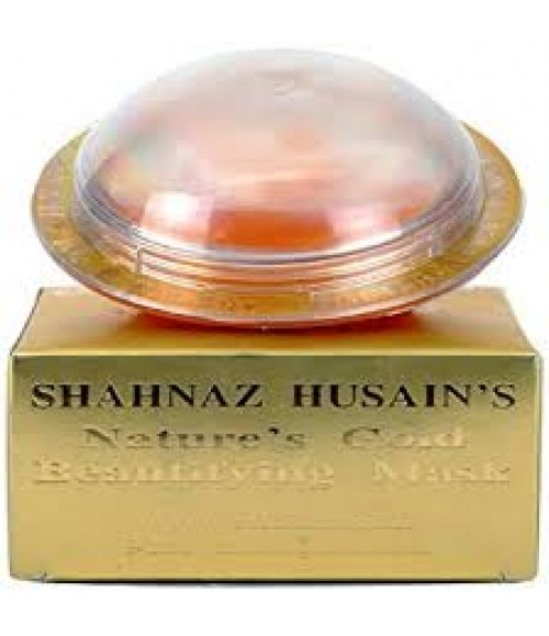 Shahnaz Husain Nature's Gold Beautifying Mask, 100g
